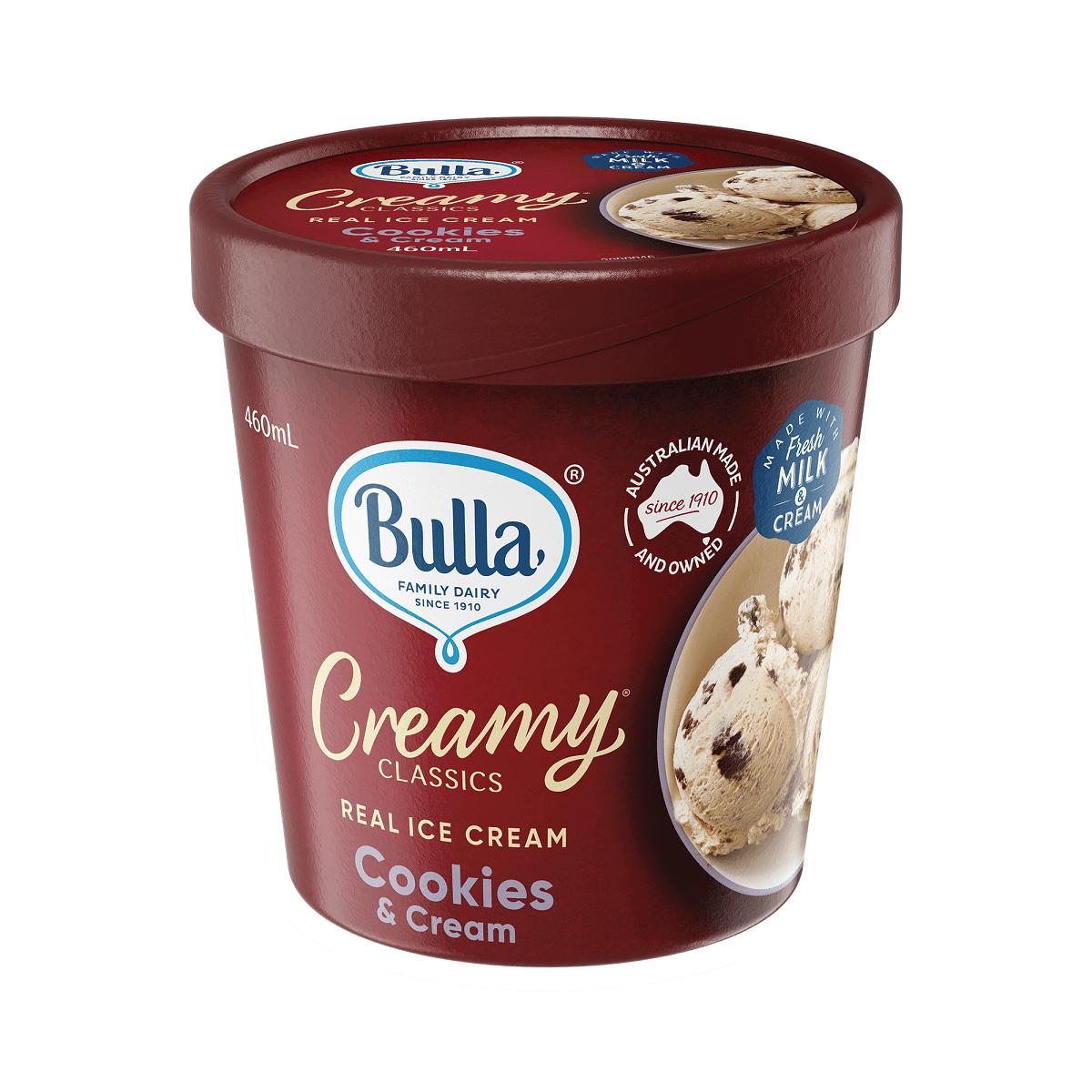 鮮奶油餅乾冰淇淋